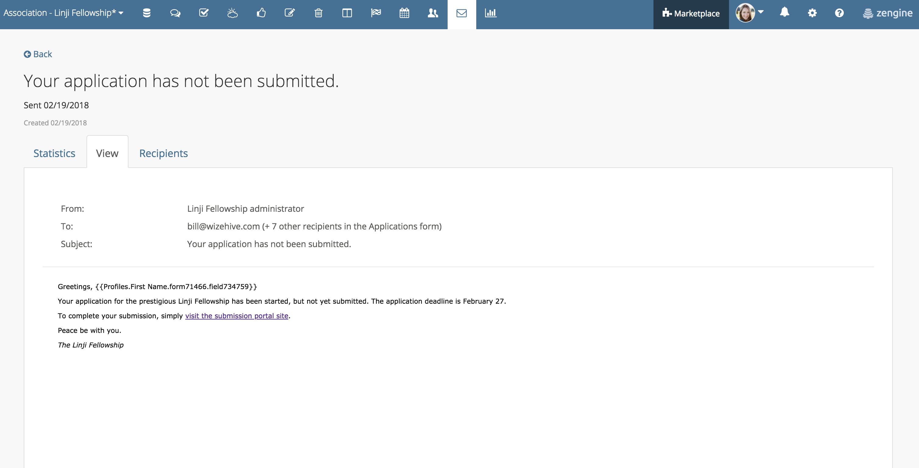 Intern Email