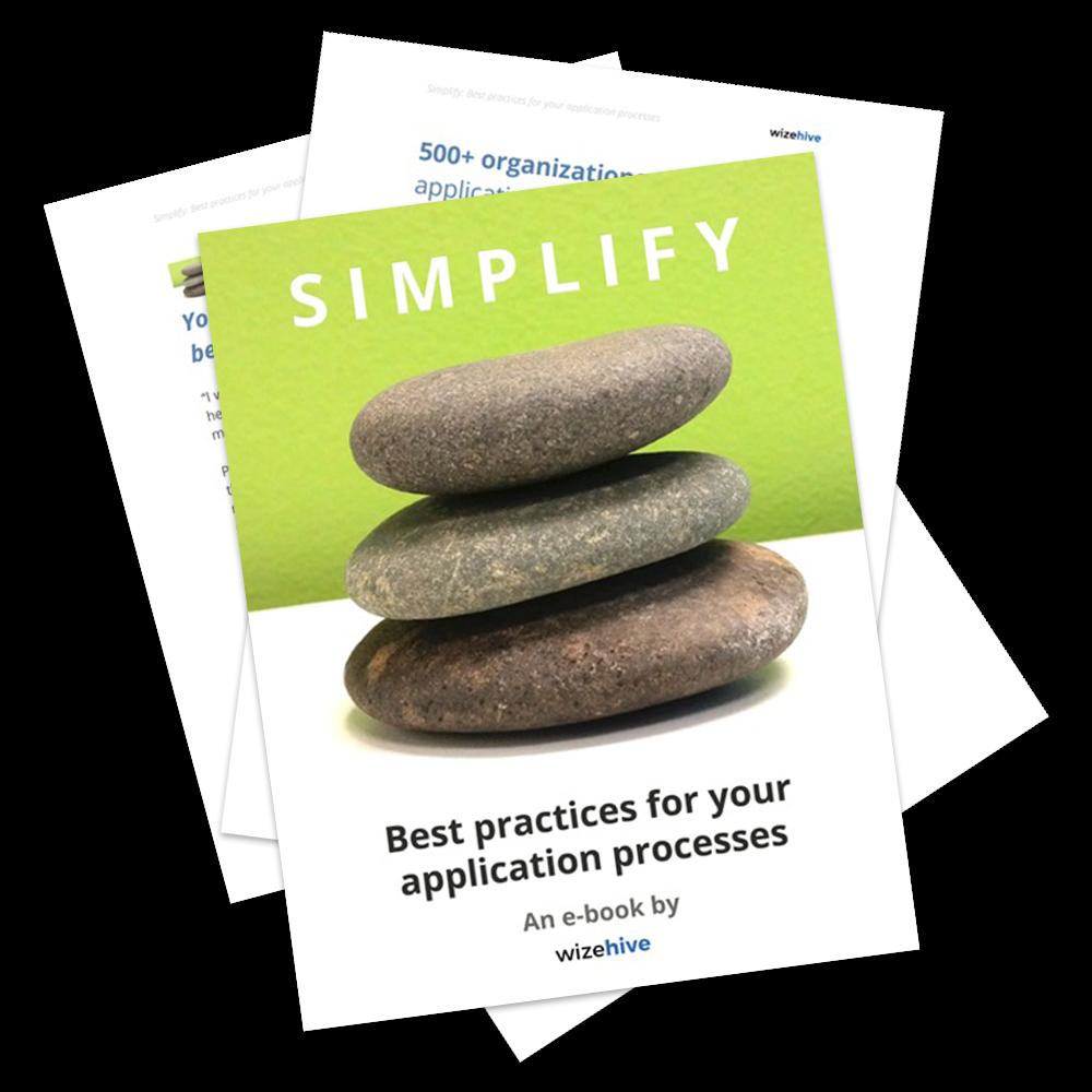 Simplify: the e-book